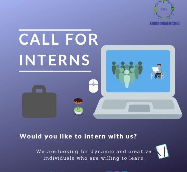 CALL FOR INTERNS. ENVIRONMENT360 edited